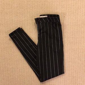 Pin Stripe Jeans